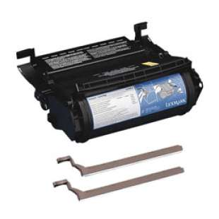 Remanufactured Lexmark 12A0825 toner cartridge - black cartridge
