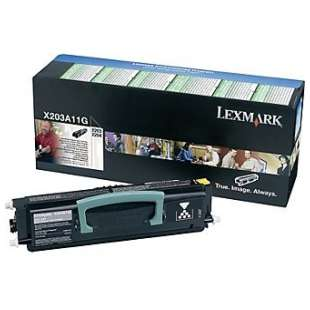 Original Lexmark X203A11G toner cartridge - black cartridge