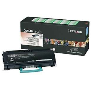 Original Lexmark X264H11G toner cartridge - high capacity black