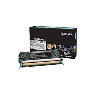 Original Lexmark X746H1KG toner cartridge - high capacity black