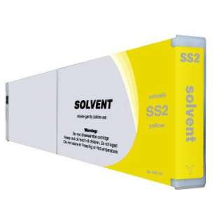 Compatible ink cartridge guaranteed to replace Mimaki SS2Y - yellow
