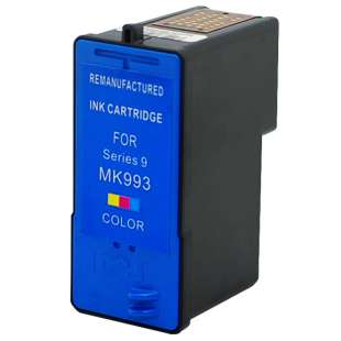Remanufactured Dell MK993 / MK991 (Series 9 ink) high quality inkjet cartridge - high capacity color