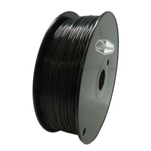 3D Filament (Bison3D brand) for 3D Printing, 1.75mm, 1kg/roll, Black (Nylon)