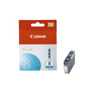 Genuine Brand Canon CLI-8C high quality inkjet cartridge - cyan