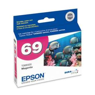 Original Epson T069320 (69 ink) high quality inkjet cartridge - magenta