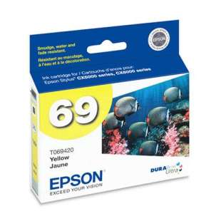 Original Epson T069420 (69 ink) high quality inkjet cartridge - yellow
