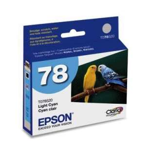 Original Epson T078520 (78 ink) high quality inkjet cartridge - light cyan