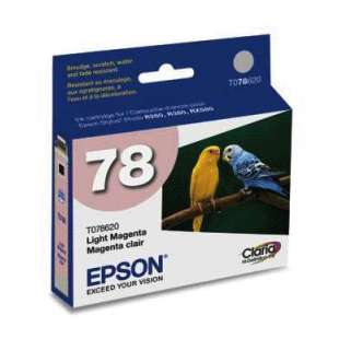 Original Epson T078620 (78 ink) high quality inkjet cartridge - light magenta