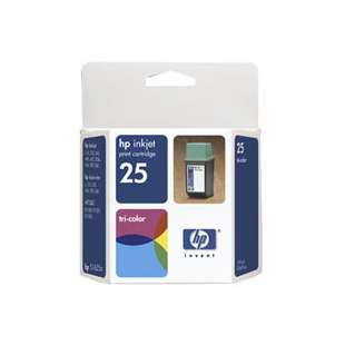 Original Hewlett Packard (HP) 51625A (HP 25 ink) high quality inkjet cartridge - color cartridge