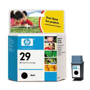 Original Hewlett Packard (HP) 51629A (HP 29 ink) high quality inkjet cartridge - black cartridge
