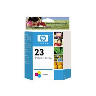 Original Hewlett Packard (HP) C1823D (HP 23 ink) high quality inkjet cartridge - color cartridge