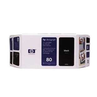 Original Hewlett Packard (HP) 80XL high quality inkjet cartridge - black cartridge