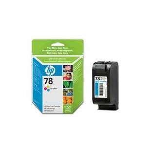 Original Hewlett Packard (HP) C6578DN (HP 78 ink) high quality inkjet cartridge - color cartridge