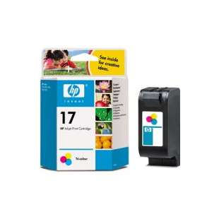 Original Hewlett Packard (HP) C6625an (HP 17 ink) high quality inkjet cartridge - color cartridge