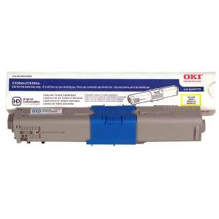 Original Okidata 44469701 (Type C17) toner cartridge - yellow