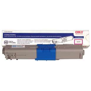 Original Okidata 44469702 (Type C17) toner cartridge - magenta