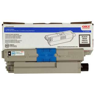 Original Okidata 44469801 (Type C17) toner cartridge - black cartridge