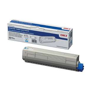Original Okidata 44844511 toner cartridge - cyan