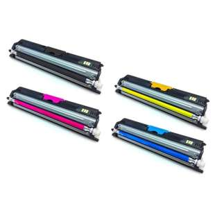 Compatible Okidata C110, C130, MC160 (Type D1) toner cartridges - 4-pack