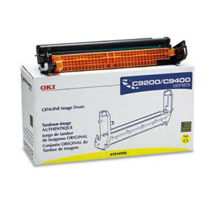 Original Okidata 41514705 toner drum - yellow