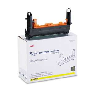 Original Okidata 41962801 toner drum - yellow
