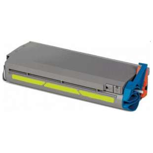 Compatible Okidata 41963001 toner cartridge - high capacity yellow