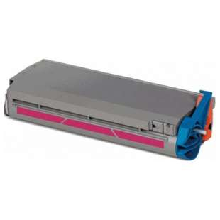 Compatible Okidata 41963002 toner cartridge - high capacity magenta