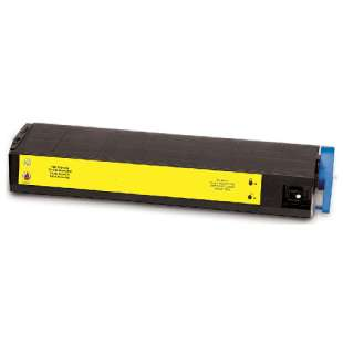 Compatible Okidata 41963601 toner cartridge - high capacity yellow