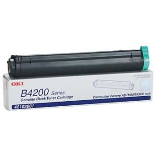Original Okidata 42103001 toner cartridge - black cartridge