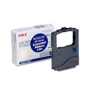 OEM Okidata 42377801 Black Original Ink Ribbon Cartridge