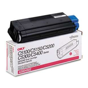 Original Okidata 42804502 toner cartridge - magenta