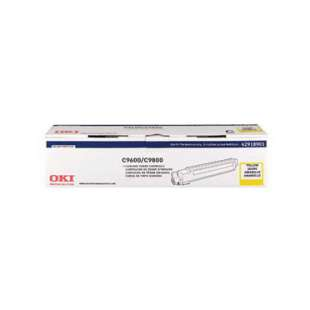 Original Okidata 42918901 toner cartridge - yellow