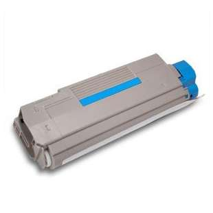Compatible Okidata 43324419 toner cartridge - cyan