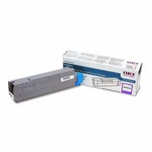 Original Okidata 43324467 toner cartridge - magenta