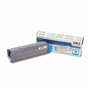 Original Okidata 43324468 toner cartridge - cyan