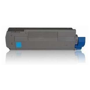 Compatible Okidata 43324468 toner cartridge - cyan