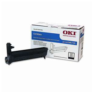 Original Okidata 43381720 toner drum - black cartridge