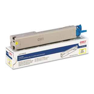 Original Okidata 43459301 toner cartridge - yellow