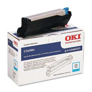 Original Okidata 43460203 toner cartridge - cyan