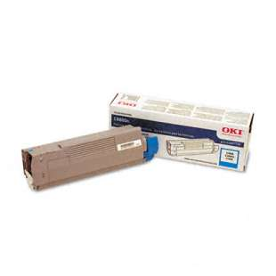 Original Okidata 43487735 toner cartridge - cyan