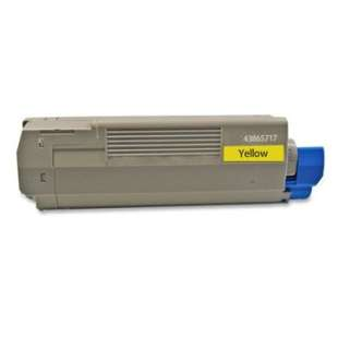 Compatible Okidata 43865717 toner cartridge - yellow