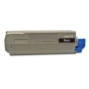 Compatible Okidata 43865720 toner cartridge - black cartridge