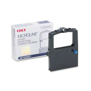 OEM Okidata 52102001 Black Original Ink Ribbon Cartridge