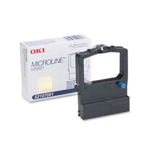OEM Okidata 52107001 Black Original Ink Ribbon Cartridge