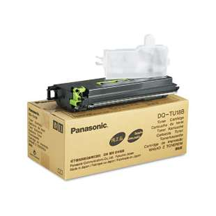 Original Panasonic DQ-TU18B toner cartridge - black cartridge