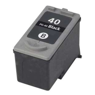 Remanufactured Canon PG-40 high quality inkjet cartridge - black cartridge