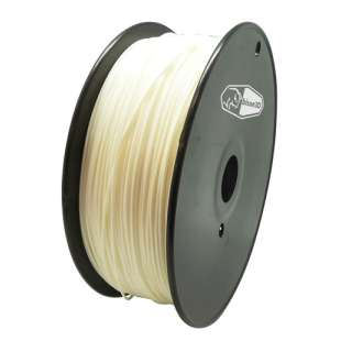 3D Filament (Bison3D brand) for 3D Printing, 1.75mm, 1kg/roll, White (PLA)
