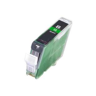 Compatible ink cartridge guaranteed to replace Canon CLI-8G - green