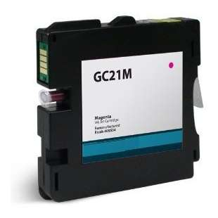 Compatible ink cartridge guaranteed to replace Ricoh 405534 (GC21M) - magenta