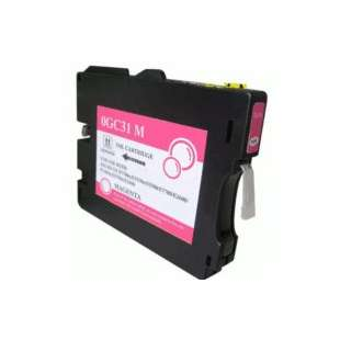 Compatible ink cartridge guaranteed to replace Ricoh 405690 (GC31M) - magenta